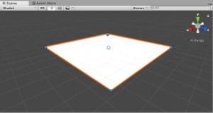UnityのPlaneで床を作る