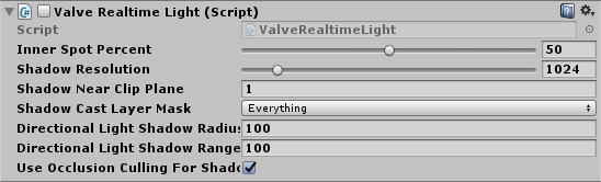 Lab Renderer - Valve Realtime Light Script