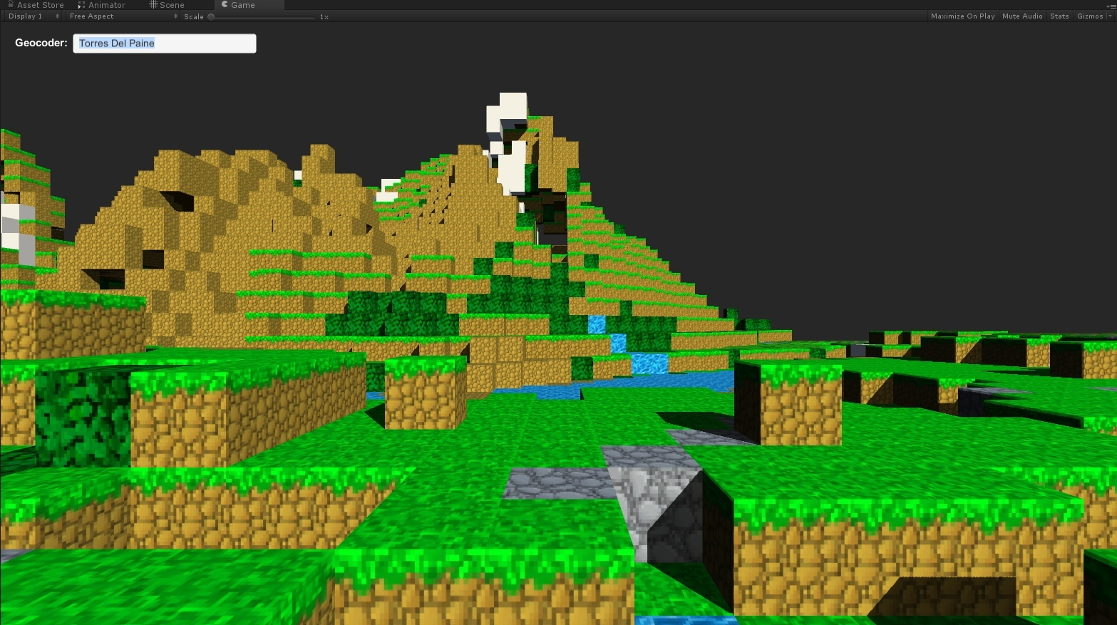 How to add real world Unity3D maps to your game or application with
