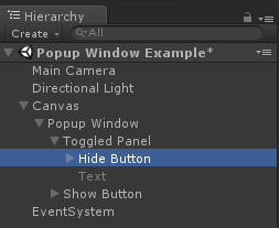 A simple Unity3D UGUI Popup Dialog/Window with no code - Unity3D College
