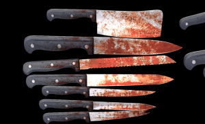Bloody Knife Pack for free (unityassets4free)