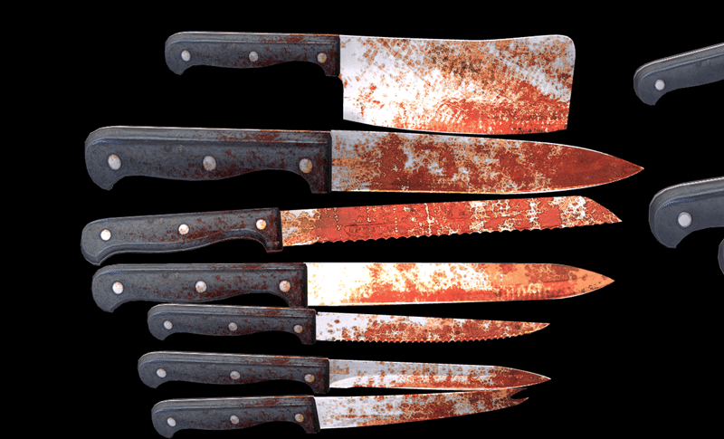 Bloody Knife Pack
