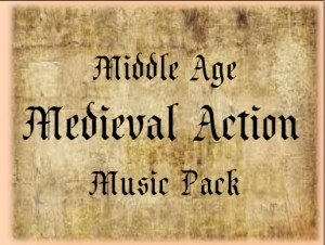 Middle Age Medieval Action Music Pack