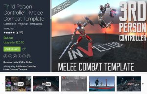 Third Person Controller – Melee Combat Template 2.4.2
