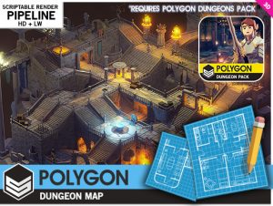 POLYGON – Dungeons Map