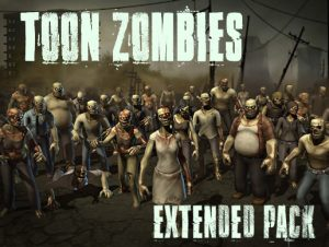Toon Zombies – Extended Pack