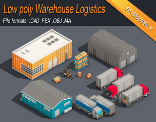Low Poly Warehouse