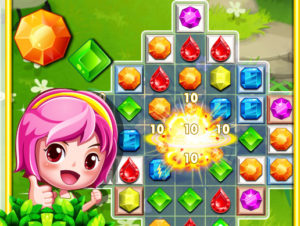 Jewels Star Match 3: Full 298 Levels