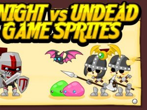 Knight vs Undead – Game Sprites