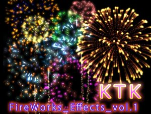 KTK Fireworks Effects Volume1