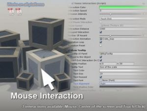 Mouse Interaction – Object Highlight
