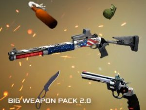 Big Weapon Pack 2.0 Mobile Ready – Snipers, pistols, shotguns, skins