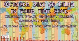 Global Wave Of Love With Japa Meditation @ Planet Earth | Cambridge | Ontario | Canada