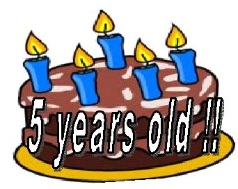 Image result for five years old clipart