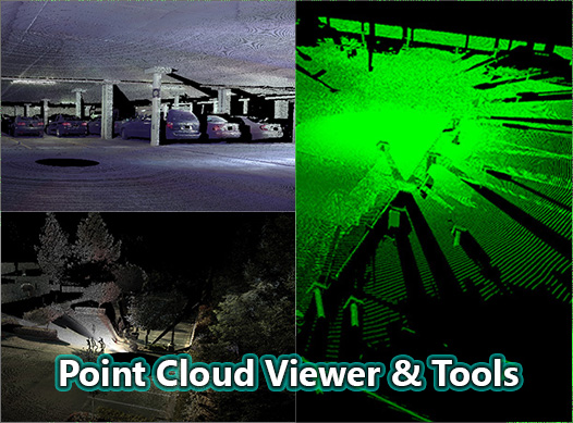 Point Cloud Viewer and Tools