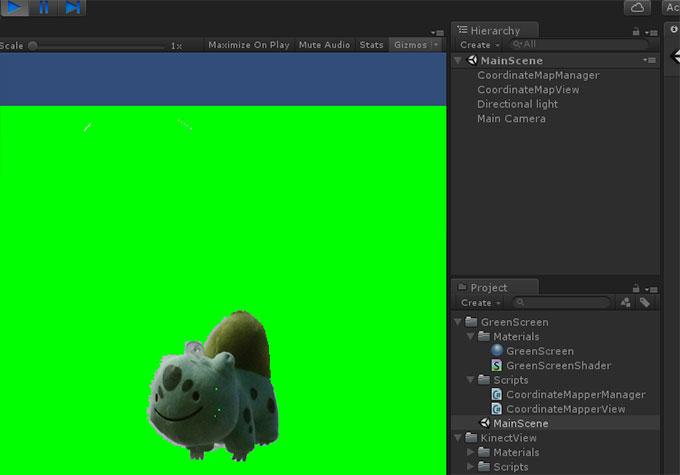 kinect_unity_greenscreen