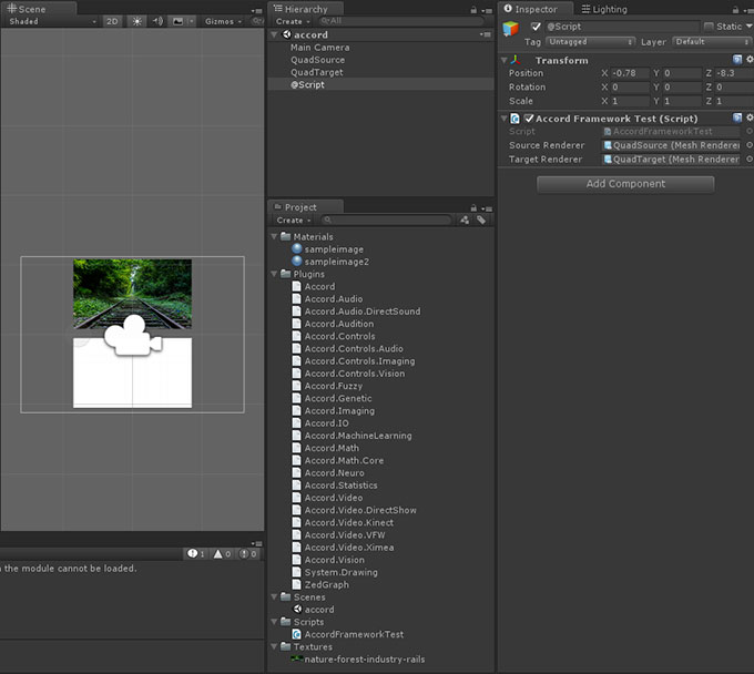 accord-net-unity-tutorial | Unity Coding - Unity3D