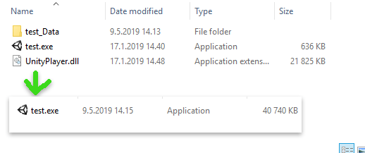 Creating Single  EXE from Unity Build Files   Unity Coding