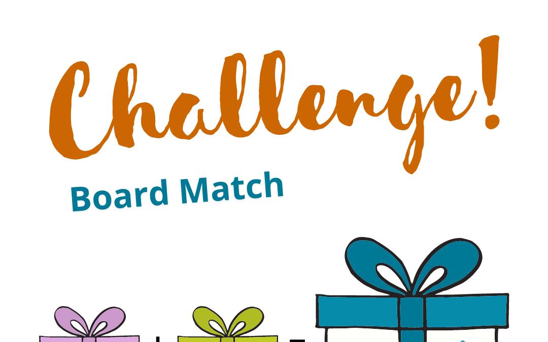 2021 Board Match Challenge