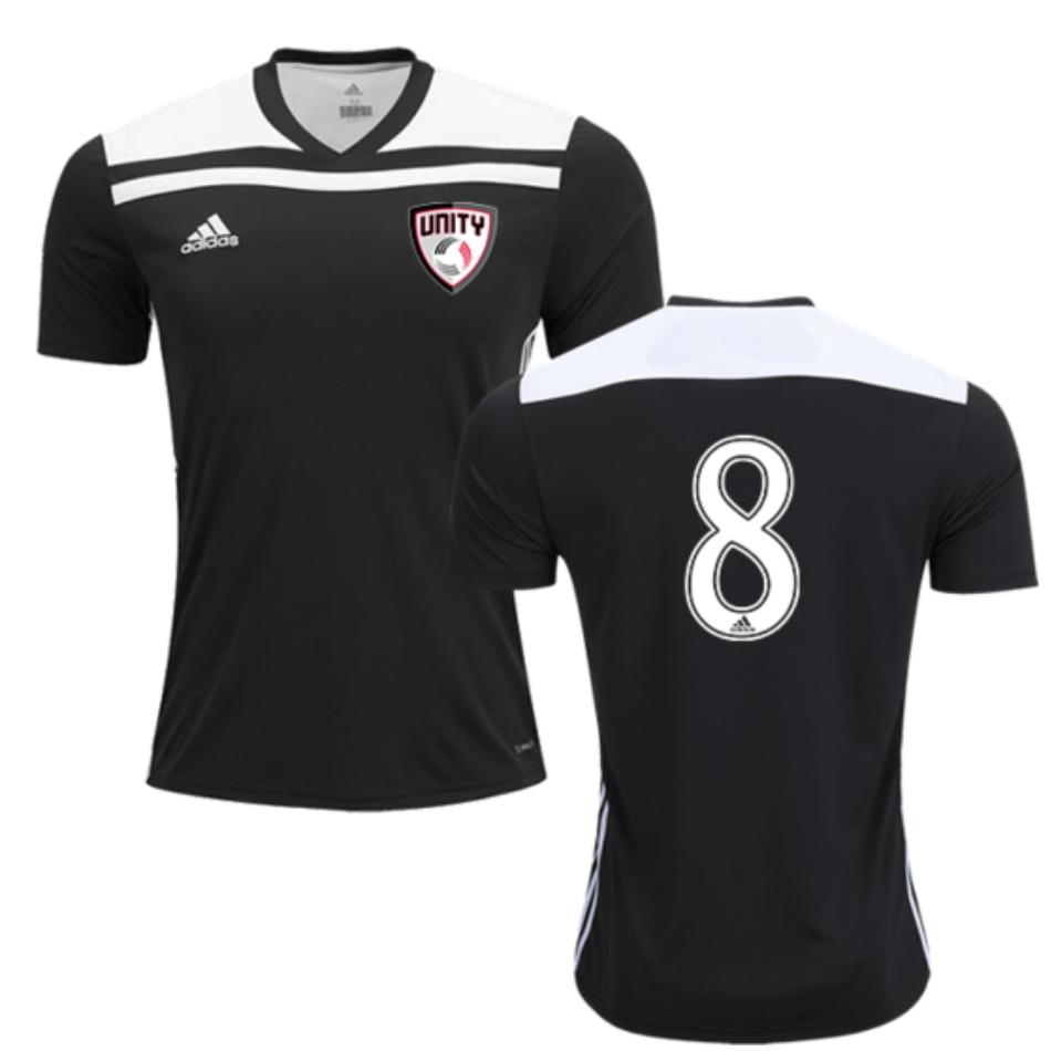 bobina Perforare fertilizzante  UNITY FC | Adidas Regista '18 Jersey (Black)