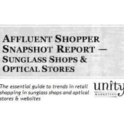 Affluent Shopper Snapshot Sunglass & Optical Stores