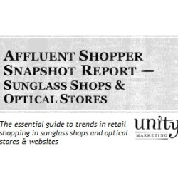 Affluent Shopper Snapshot Sunglass & Optical Stores