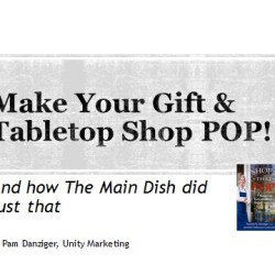 How to make your gift & tabletop shop POP!