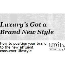 Luxury's Got Brand New Style