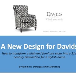 New Design for Davids Furniture & Interiors