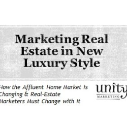 Real Estate Marketing New Luxury Style