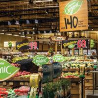 Wemans Food Market Produce department