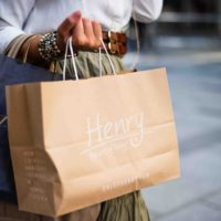 HENRYs shopping bag