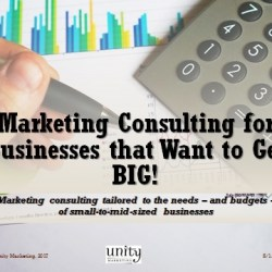 marketing consulting for business that want to get big