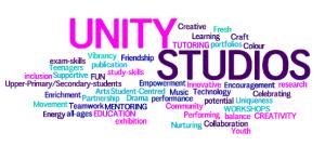 Unity Studios wordle