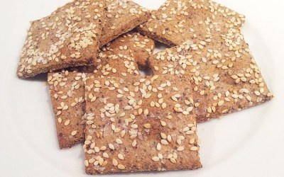 Thermomix Grain-Free Crackers