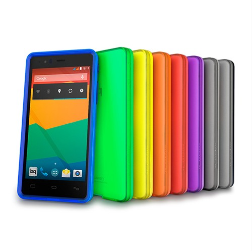 Funda Aquaris E5 Gummie Cover