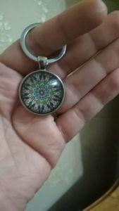 Porte clé Mandala photo review