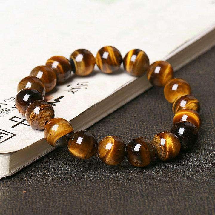 Bracelet de protection célesteen œil de tigre - L'univers-karma