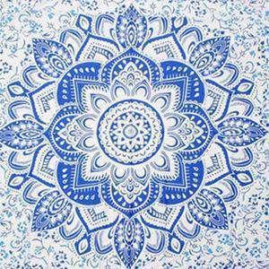 Nappe Mandala Sacré Indienne - L'univers-karma
