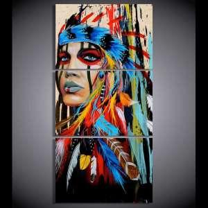 Décoration Murale Amérindienne - L'univers-karma