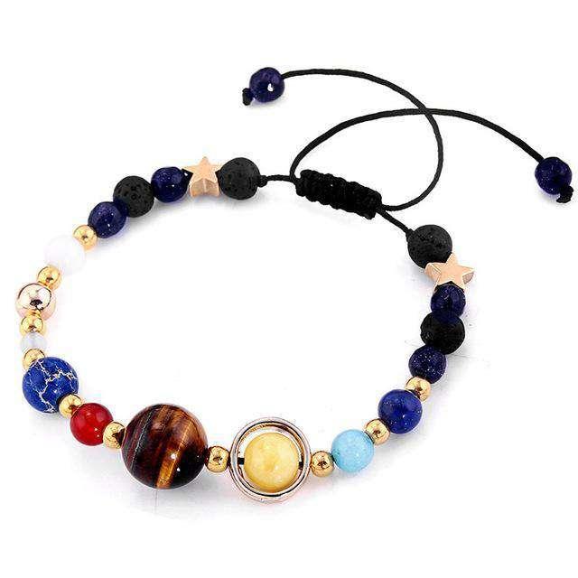 Bracelet Système Solaire - L'univers-karma
