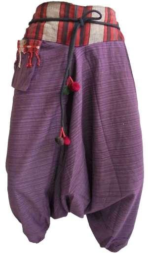 Pantalon Sarouel Violet - L'univers-karma