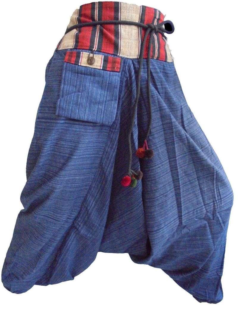 Pantalon Sarouel Bleu - L'univers-karma