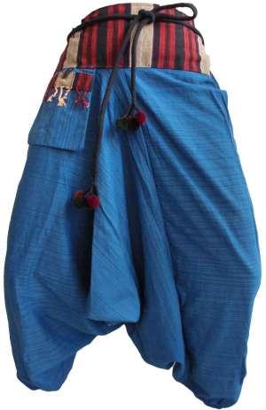 Pantalon Sarouel Bleu Ciel - L'univers-karma