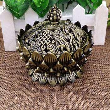 Brûleur d'Encens Lotus Tibétain - L'univers-karma