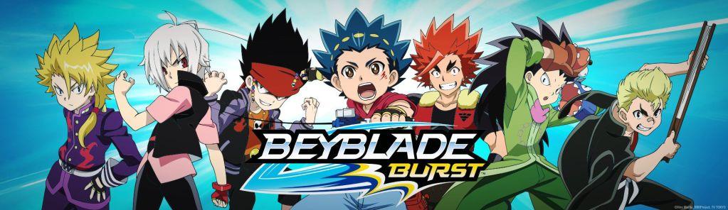 Les personnages Beyblade Burst