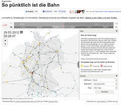Ein Beispiel für gelungenen Datenjournalismus: der Zugmonitor von sueddeutsche.de