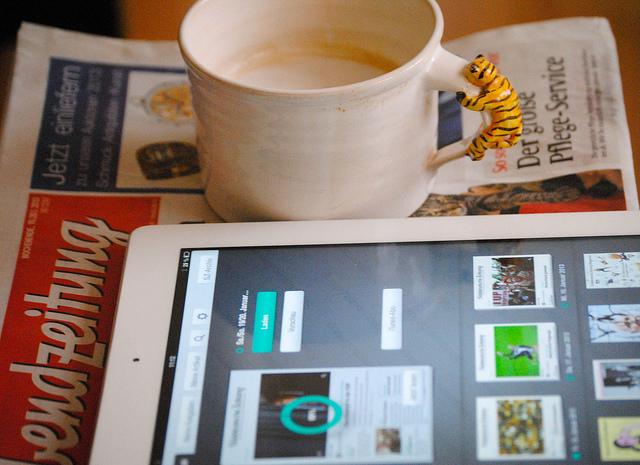"""Den Kampf u.a. auch gegen die digitalen Medien verloren: Die Münchner """"Abendzeitung"""" hat Insolvenz angemeldet. (Foto: Jakubetz)"""