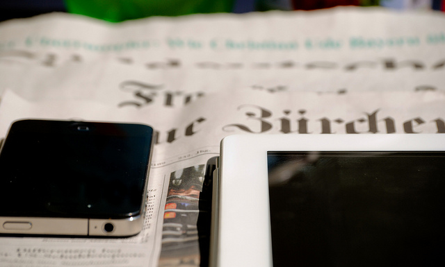 """""""Journalism is more than just newspapers"""". (Foto: Jakubetz)"""