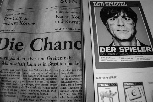 Das Zutrauen in die Zeitungen ist immer noch groß. Nur bei den Ausspielwegen favorisieren immer mehr Deutsche digitale Plattformen. (Foto: Jakubetz)